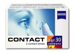 Contact Day30 Colours (PWR 0,00) 2pcs.