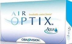 Kontaktlinsen Air Optix Aqua 3 Stck.