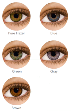 Soczewki Air Optix Colors podkreślające 2szt.