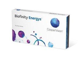 Soczewki Biofinity Energys 3szt.